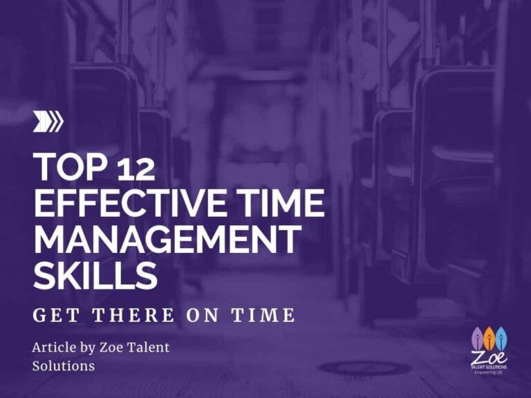 Top 12 Effective Time Management Skills