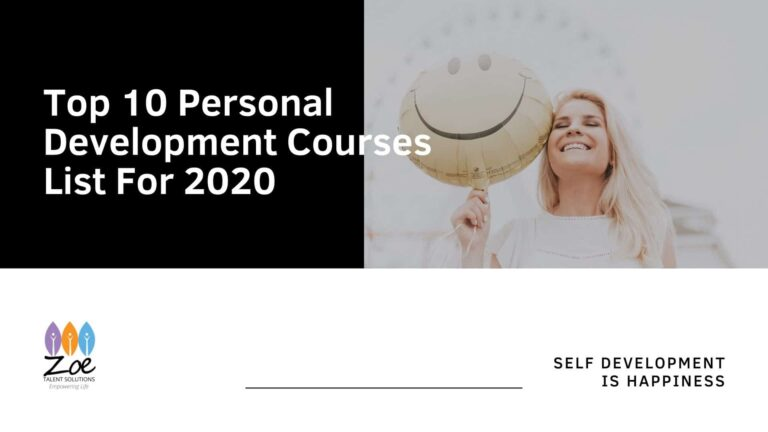 Top 10 Personal Development Courses List For 2020