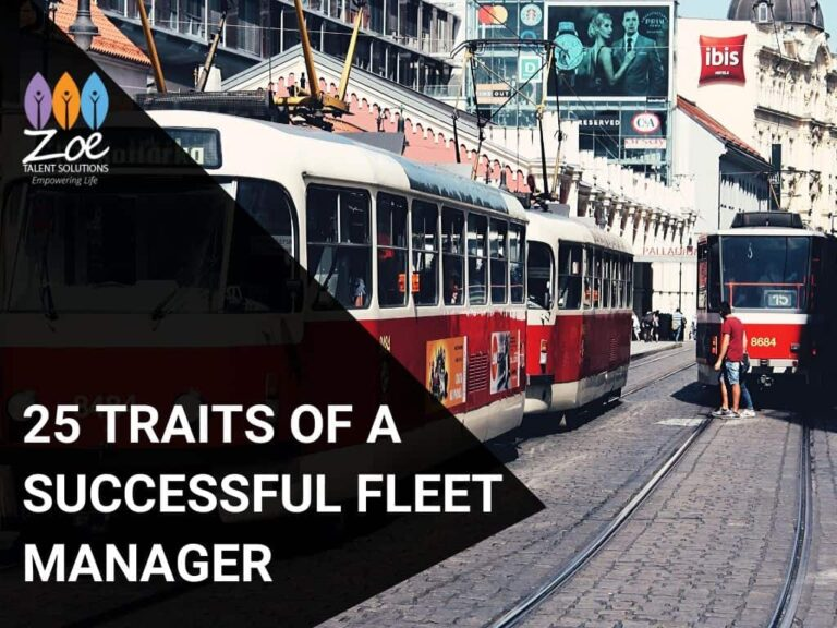 25 Traits of a Successful Fleet Manager