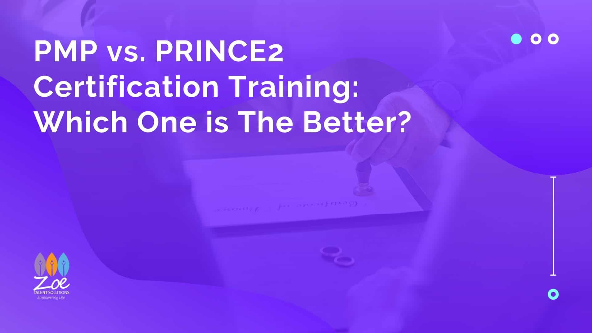 Pmp Vs Prince2 Certification Training Which One Is The